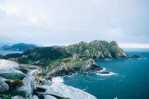 Isola montagne paesaggio — Foto stock