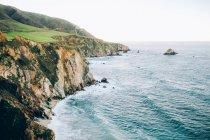 Landschaft der Steilküsten — Stockfoto