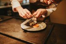 Блюдо для украшения кухни — стоковое фото