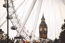 London Eye ferry wheel — Stock Photo