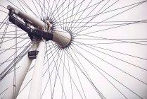 Лондонское колесо парома — стоковое фото