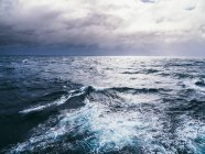 Sea in stormy weather — Stock Photo
