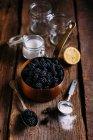 Brombeeren-Marmelade — Stockfoto