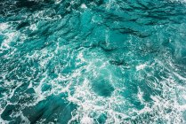 Full frame view of turquoise ocean water — Stock Photo