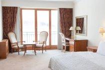 Interior da sala vazia no hotel — Fotografia de Stock