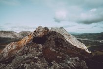 Pico rochoso na Cordilheira — Fotografia de Stock
