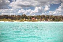 Рябь воды бирюзовый Карибского моря, Мексика — стоковое фото