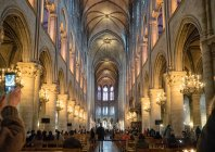 Париж, Франция - 13 марта 2108: интерьер Пантеон Париж — стоковое фото