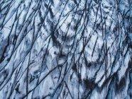 Close-up of blue melting iceberg, Iceland — Foto stock