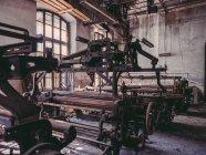 Máquinas velhas na fábrica — Fotografia de Stock