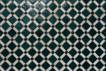 Винтажная керамика ручной работы из клетчатки — стоковое фото