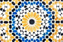 Vintage artesanal estampados telha cerâmica — Fotografia de Stock