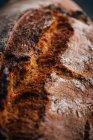 Nahaufnahme von hausgemachten rustikalen Brotlaib — Stockfoto