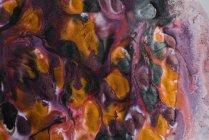 Zusammenfassung Hintergrund lebendig das Austreten von erstaunlichen metallic pigment — Stockfoto