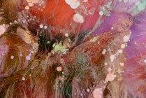 Resumen flujo de pinturas líquidas en mezcla - foto de stock