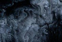 Абстрактні потік рідини фарб у суміші — стокове фото
