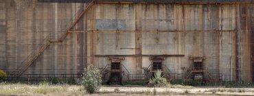 Old mining structures in Riotinto, Huelva — Stock Photo