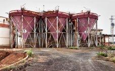 Old mining structures in Riotinto, Huelva, Spain — Stock Photo