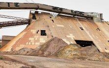 Старая горнодобывающая структура в Riotinto, Huelva, Spain — стоковое фото