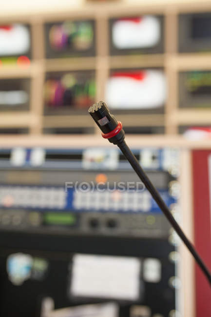 Professional tv studio equipment — Stock Photo