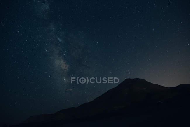 Красивий краєвид на ніч — стокове фото