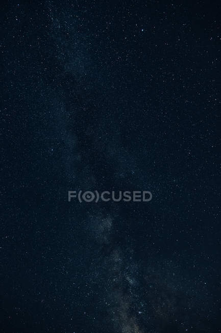 Beautiful starry night sky — Stock Photo