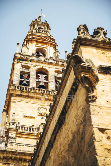 Exterior de la antigua Gran Mezquita de Córdoba - foto de stock