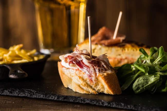 Смачні іспанського закуска — стокове фото