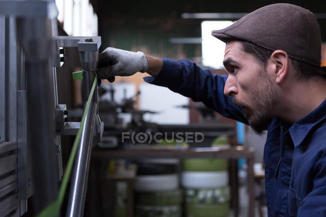 Craftsman, измерительные металлические детали — стоковое фото