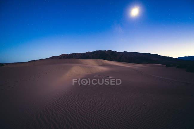 Mesquite Flat Dune di sabbia — Foto stock