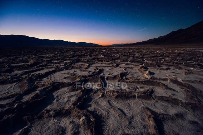 Badwater басейн в долині смерті — стокове фото