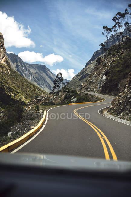 Красива Долина в місті Huaraz — стокове фото