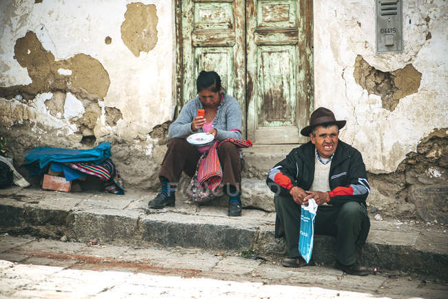 Indios nativos - foto de stock