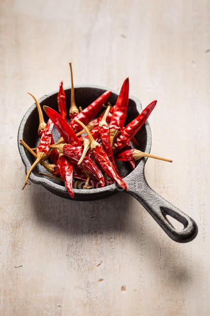 Pimientos chile rojo - foto de stock