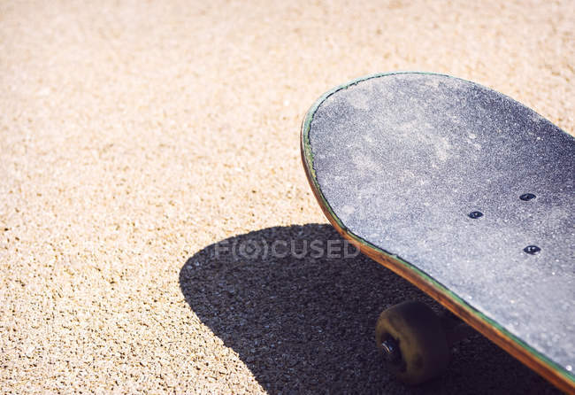 Old used skateboard — Stock Photo