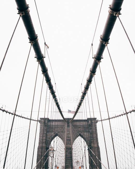New York bridge ropes — Stock Photo | #163535504