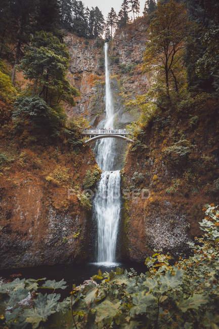 Multnomah fällt, Columbia, USA — Stockfoto