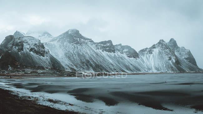 Stokksnes гори, Ісландія — стокове фото