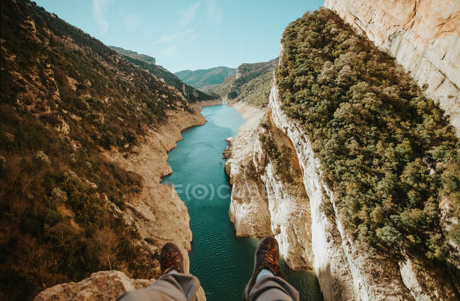 Mont-Rebei Canyon, Lleida, España - foto de stock