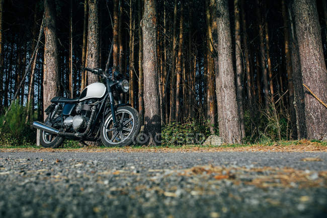 Caf racer motorbike — Stock Photo