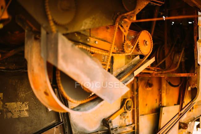 Записування та іржаві машини — стокове фото