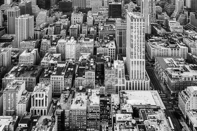 Манхеттен перегляду вулиць — стокове фото