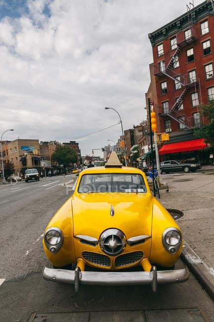 1950 Studebaker geparkt in manhattan Straßen — Stockfoto