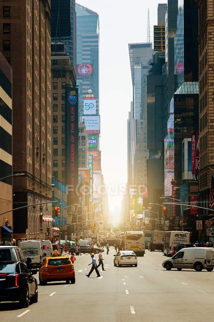 Адам Клейтон Пауелл молодший бульвар — стокове фото