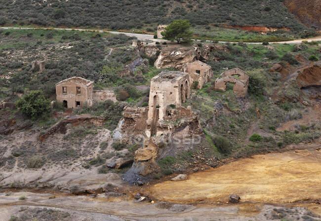 La Union, Mines d'argent abandonnées, Murcie, Espagne — Photo de stock