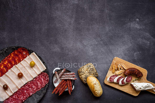 Spain cuisine dishes — Stock Photo