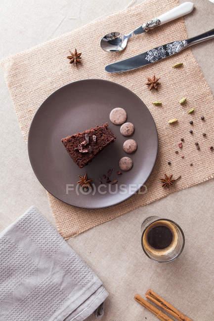 Pastel sobre tela de saco - foto de stock