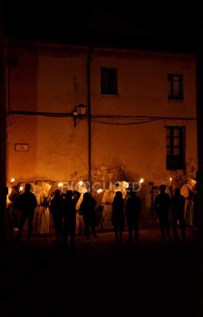 Settimana della Passione a Zamora, Spagna — Foto stock