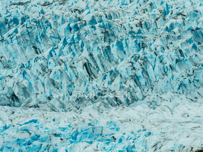 Sharp formations of ice — Stock Photo
