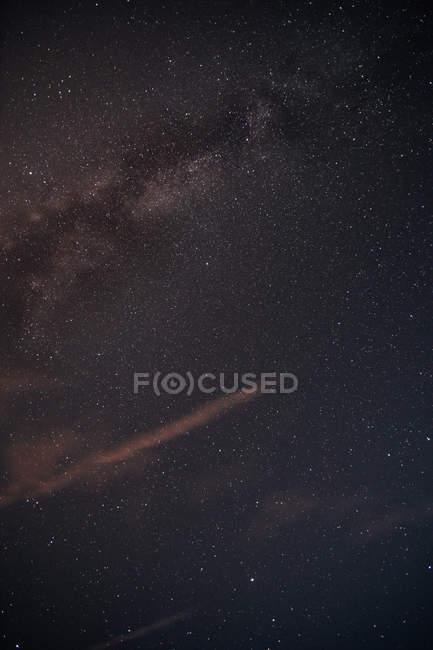 Skyscape галактики Чумацький шлях вночі — стокове фото